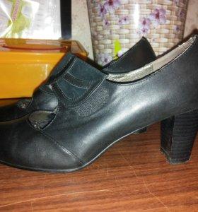 Туфли н. кожа