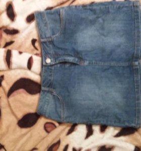Джинсовая юбка из остина