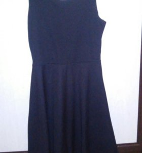 Платье черное пулбеар