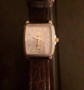 Оригинальные швейцарские часы.Золото-автоподзавод.