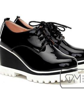 Туфли, новые. Размер 37-38