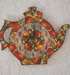 Часы для кухни (подарок на любой случай)
