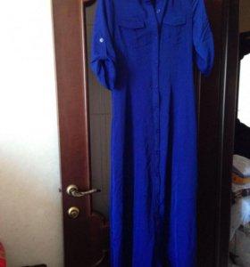 Платье-халат, новое, размер 42-44
