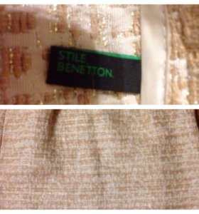Юбка Benetton новая 44 р-р