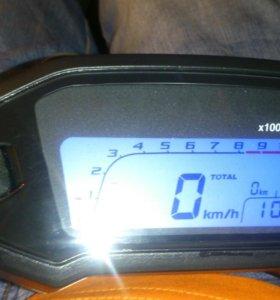 Приборная панель с датчиком скорости