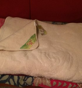Продам тёплое одеяло из овечьей шерсти
