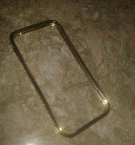 Бампер чехол на Айфон 5 S