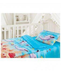 Постельное белье в детскую кроватку (бязь)