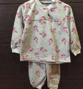 Пижама для детей( размер 80-86) новая.