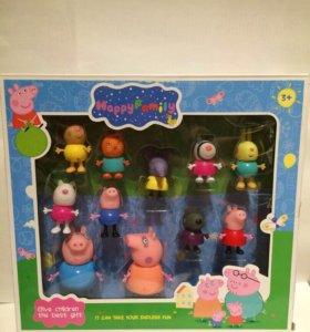 Свинка Пеппа + семья+ друзья