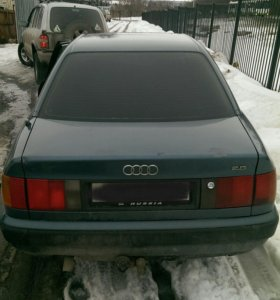 Audi 100 c4 в разборе