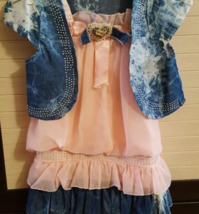 Платье для девочки рост.98-104