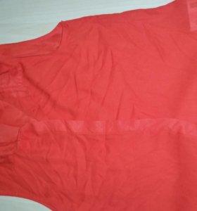 Новая блузка шифоновая без рукавов