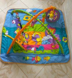 Детский игровой коврик Tiny love+ подарки