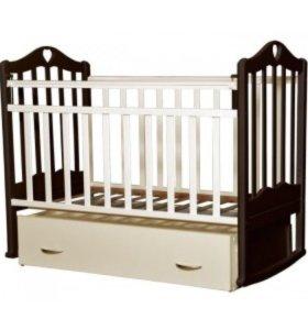 """Новая детская кроватка """"Каролина-4"""" без комода !"""