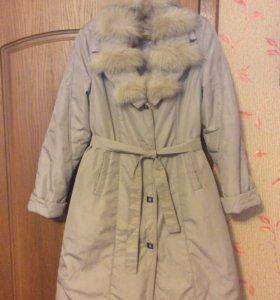 Пальто ( утепленное)зима