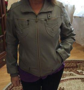 Куртка кожаная 44-46