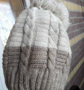 Шапка зимняя 50% шерсть