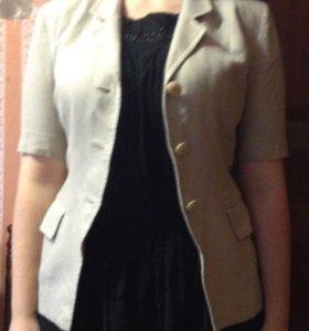 Пиджак серый