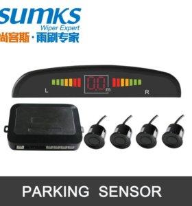 Парктроник на 4 датчика со светодиодным дисплеем