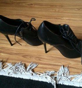 Туфли нат кожа