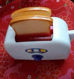 Игрушки для кухниТостер игрушечный