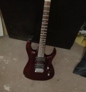 Гитара, усилитель, чехол