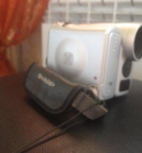 Цифровая видеокамера sharp