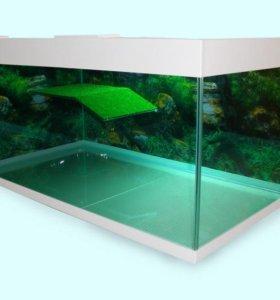 Акватеррариум для черепах 125 литров