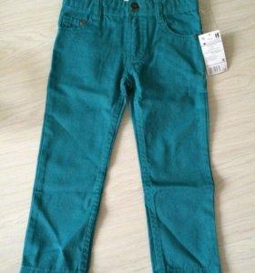 Новые джинсы! На 3 года , 92