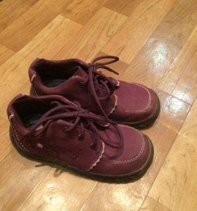 Ботинки натуральная замша фирма  Kapika