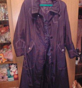 Шикарное плащ-пальто