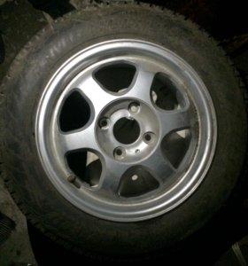 Колесо на диске r15. 1шт.
