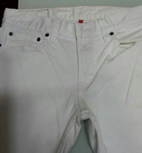 Муж джинсы  белые