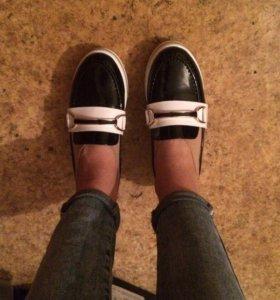 Ботинки слипоны/лоферы