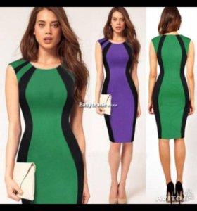 Платье L Фиолетовое
