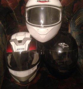 Мото шлемы и куртка