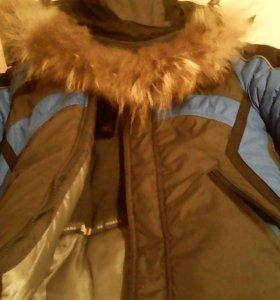 Новая зимняя детская куртка