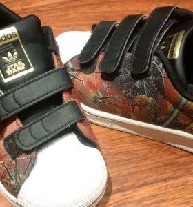 Кроссовки Adidas superstar limited Star Wars