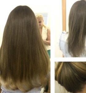 Наращивание волос Сыктывкар микрокапсулы