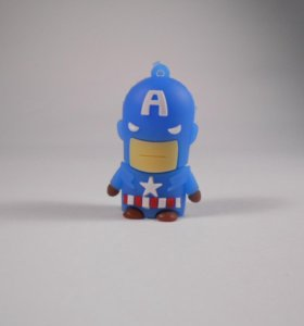 Флешка Капитан Америка, 8гб