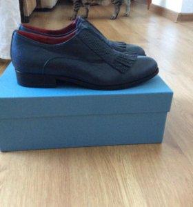 Кожаные туфли ORO scuro