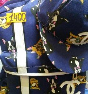 Рюкзак с кепкой