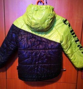 ORBY куртка тёплая на мальчика до -15 С