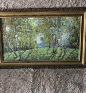 Картина русского художника 20 век