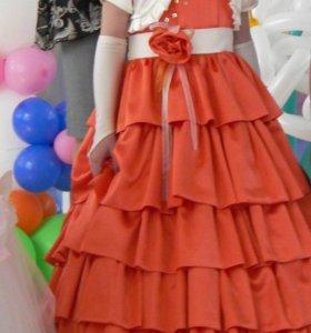 Платье для девочки на выпускной!