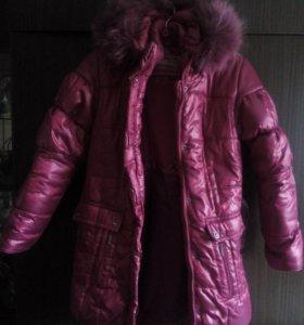 Пуховик зимний+куртка.