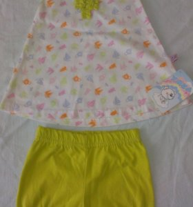 Новое платье с шортиками