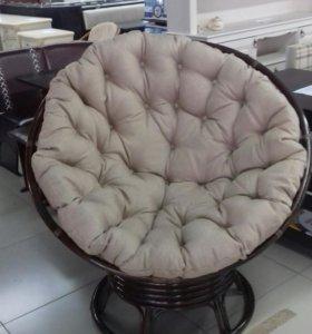 Кресло качалка папасан ротанг