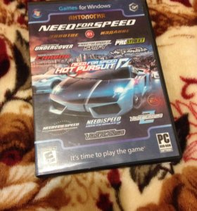 Диск со всеми Need for Speed